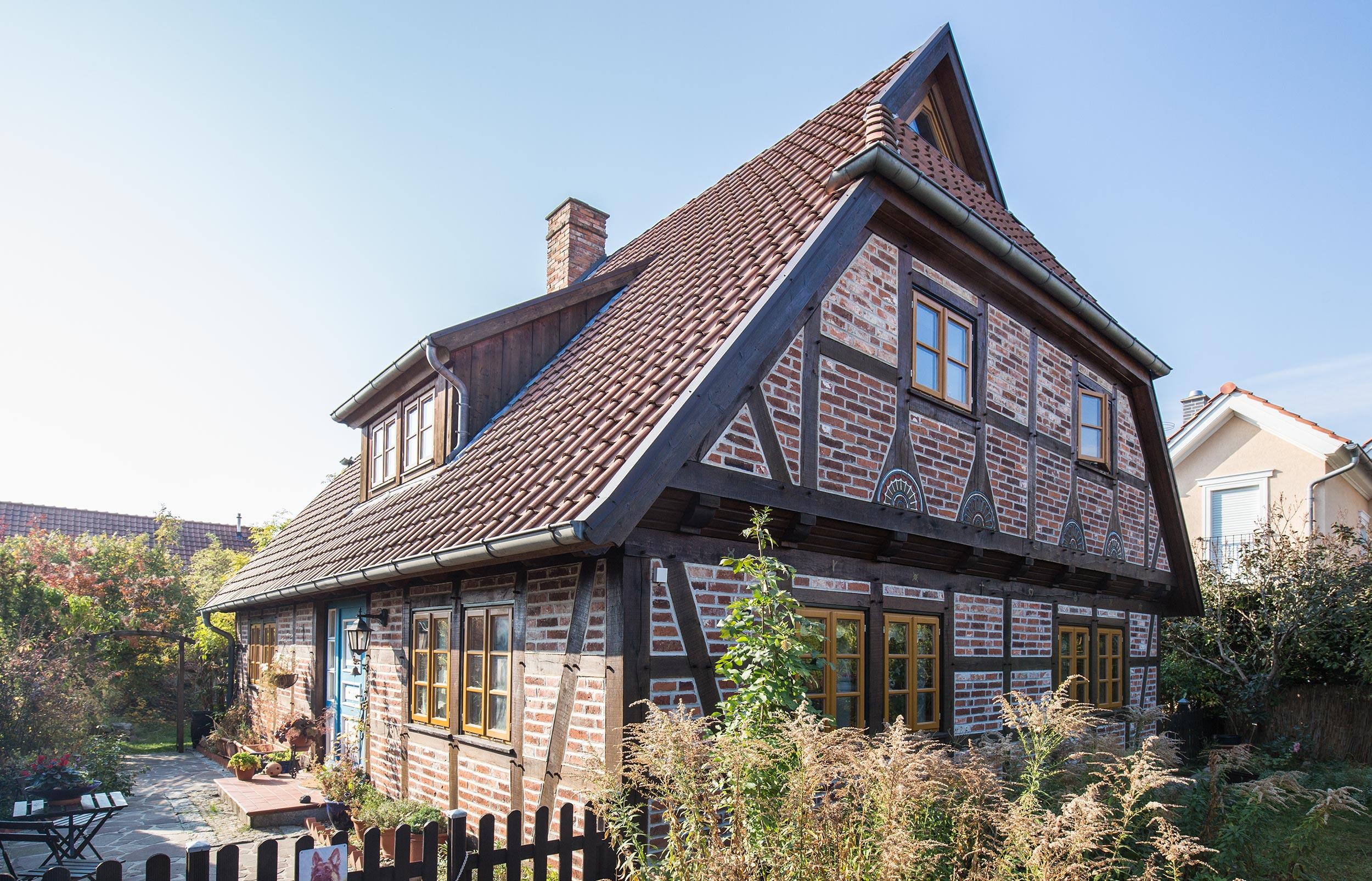 Ökologisches Fachwerkhaus mit herausragendem Wohnklima