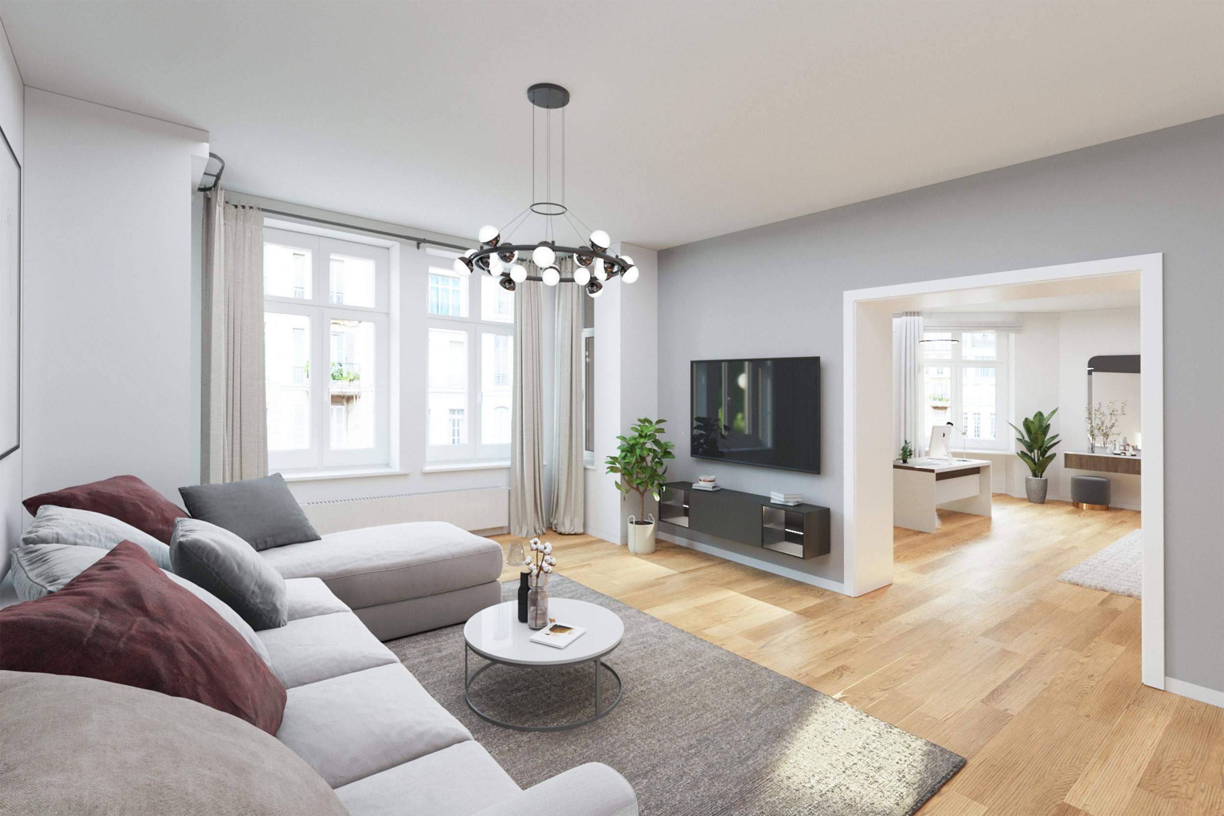 Vielseitige 4-Zimmer-Wohnung mit Balkon in Berlin-Weißensee