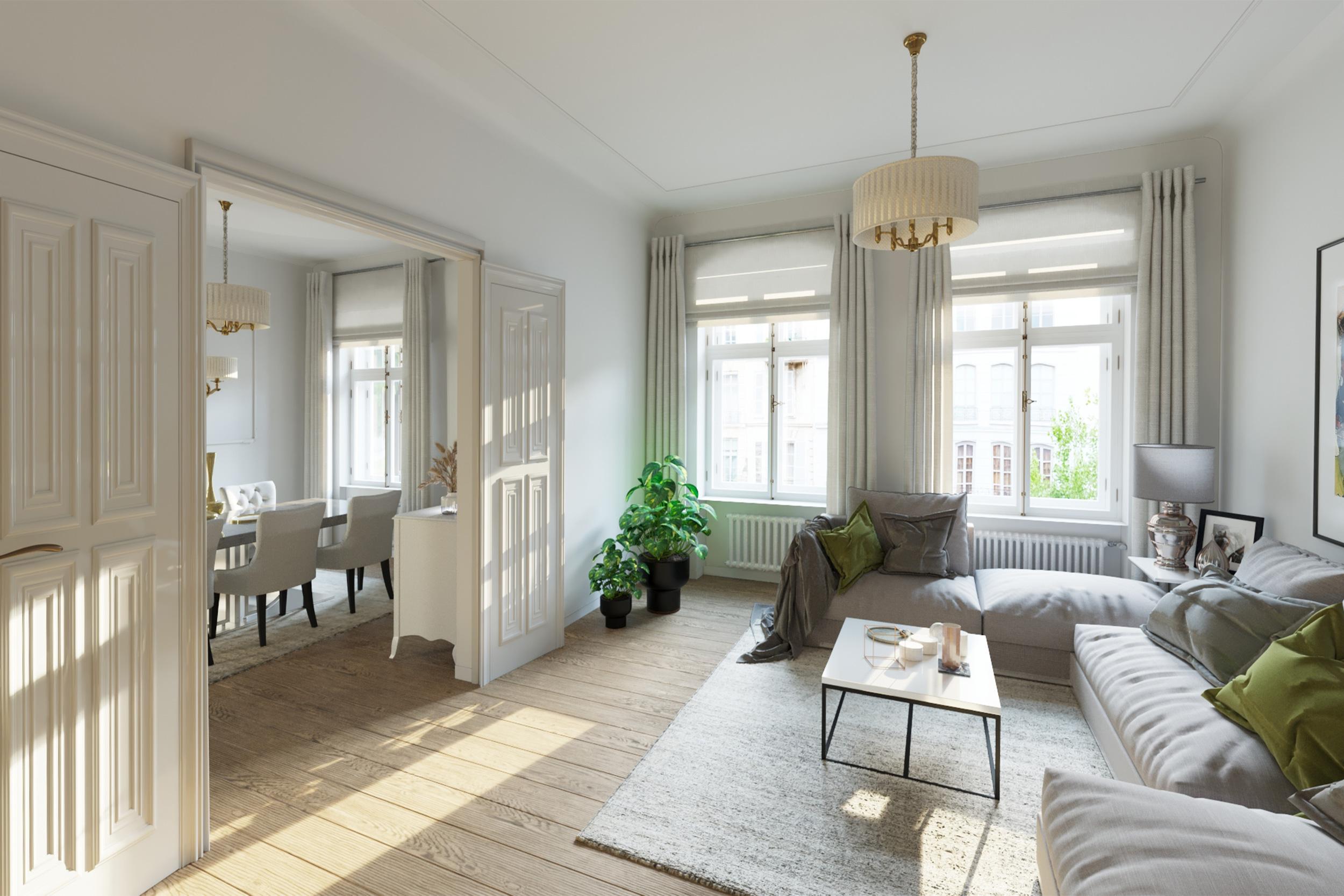 Erstklassige 4,5-Zimmer-Altbauwohnung in Bestlage