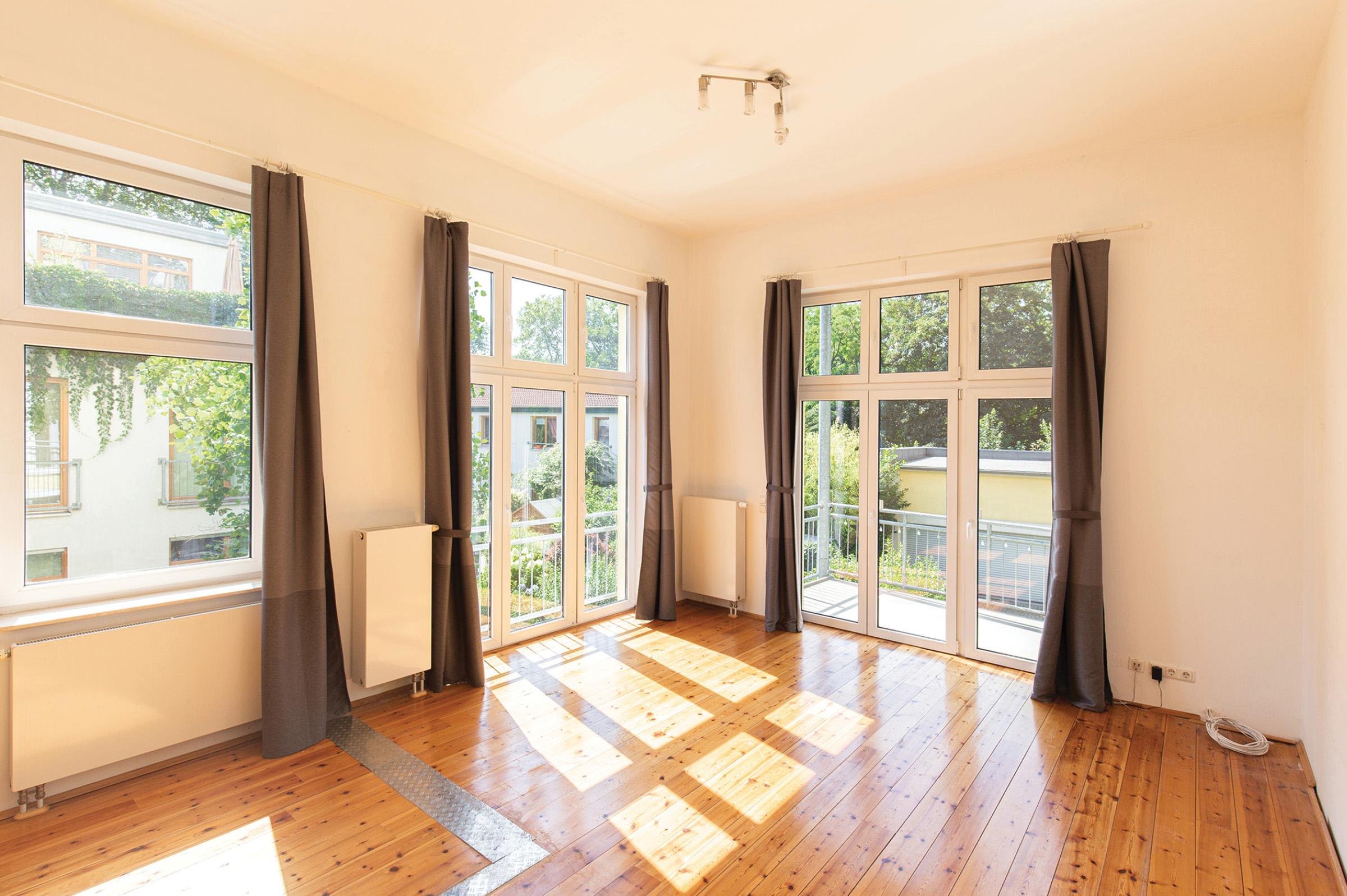 Sonnige 4-Zimmer-Wohnung in Süd-/West-Ausrichtung
